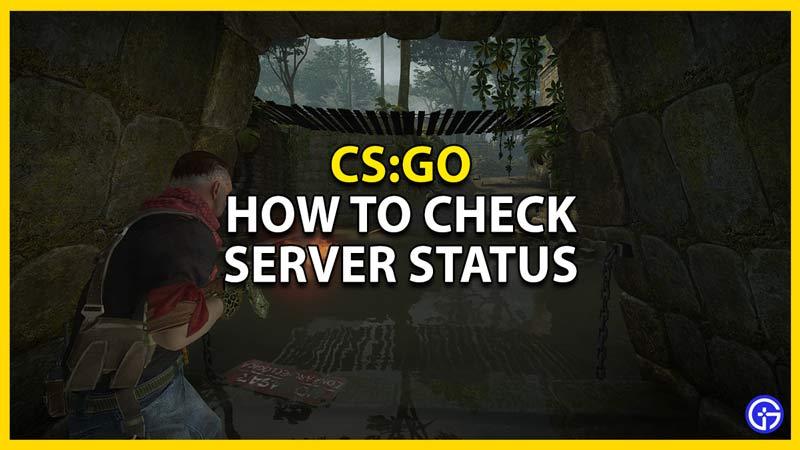 csgo how to check server status