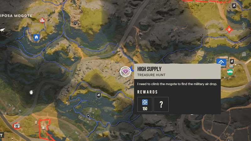 High Supply Far Cry 6 Treasure Hunt: How To Find Supply Drop?