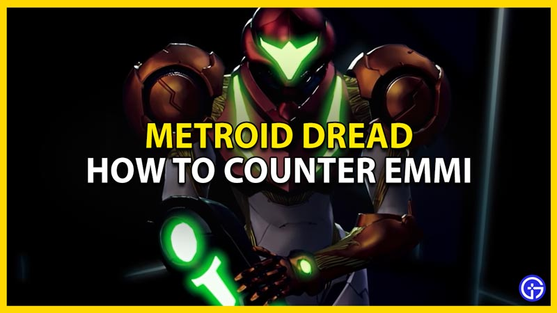 metroid dread how to counter emmi by using parry to dodge