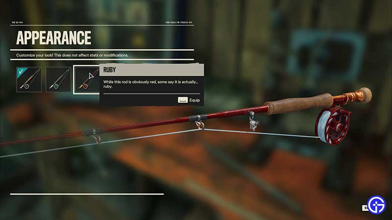 how to customize upgrade fishing rod fc6