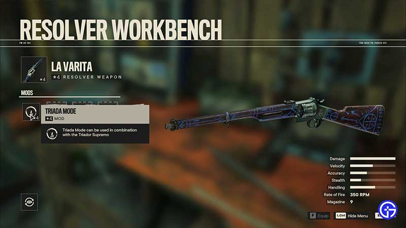 how to find and get resolver weapons far cry 6