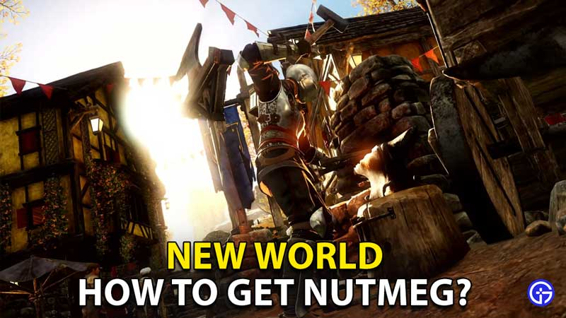 how to get nutmeg locations recipe new world