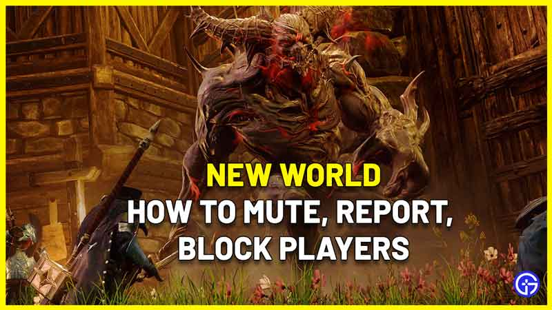how to mute chat new world