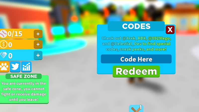 how to redeem batting champions codes