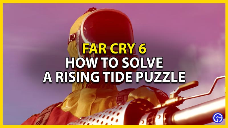 far cry 6 a rising tide door code order