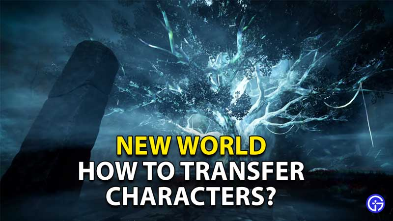 how to transfer your character in new world
