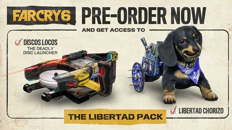 how to unlock far cyr 6 preorder launcher and chorizo outfit