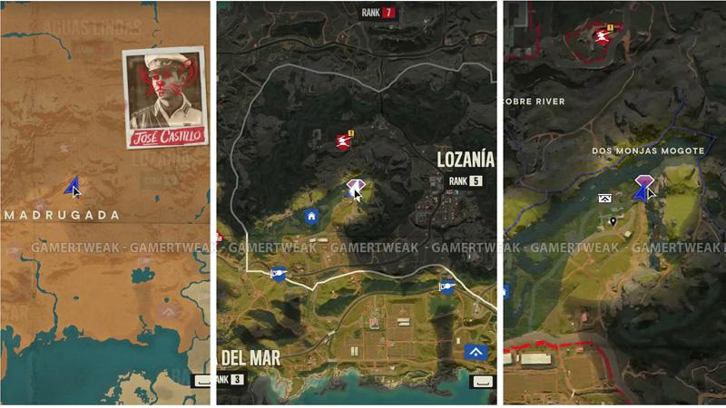 Ida's Sigil FC6 Map Location