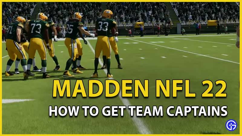madden nfl 22 team captains