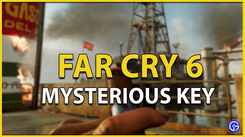mysterious key far cry 6