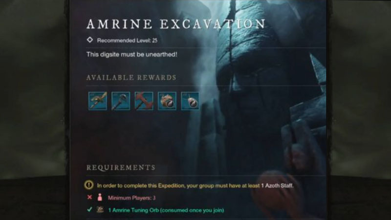 New World Amrine Excavation: How To Take Part In Expedition?