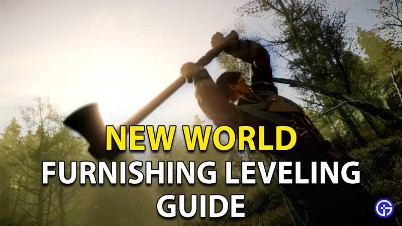 New World Furnishing Leveling: How To Level Up Skill Fast?