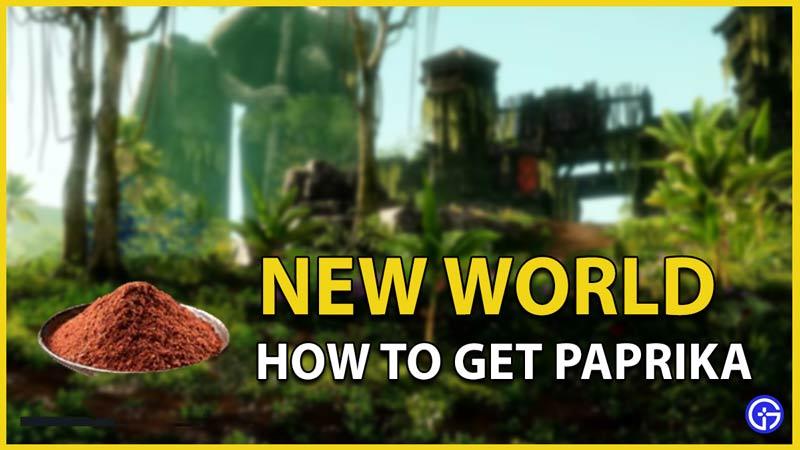 paprika new world