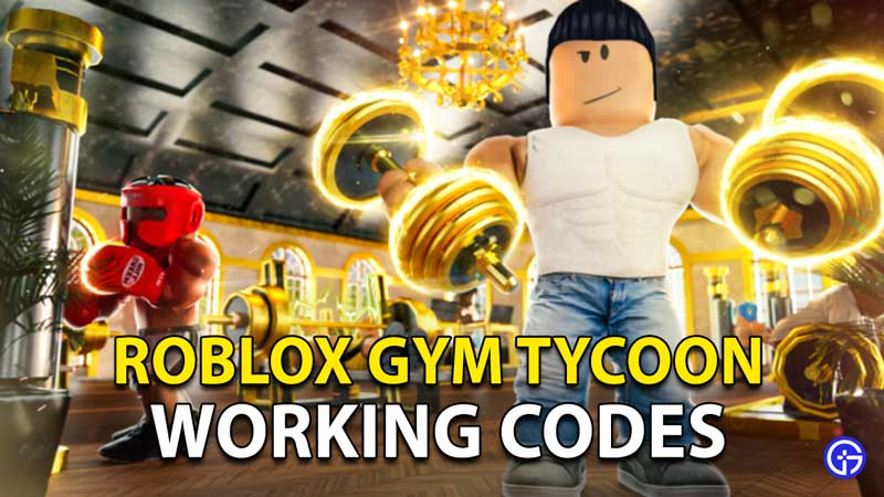 Gym Tycoon Codes Roblox