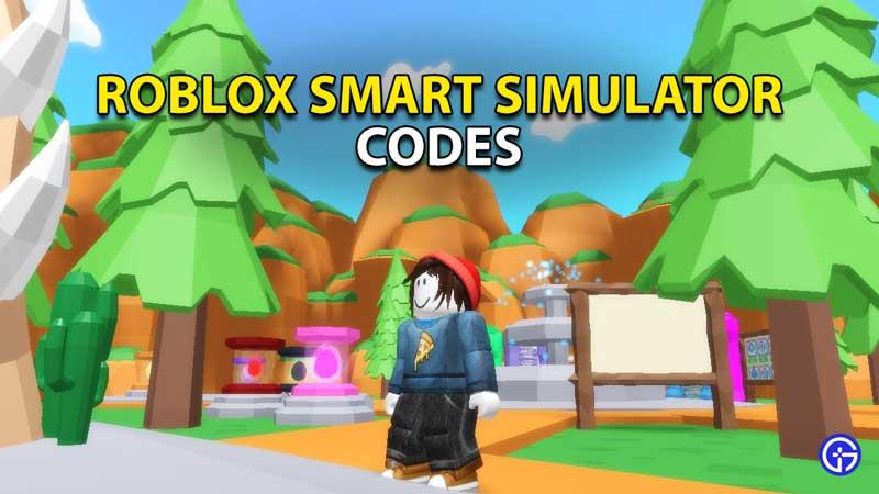 roblox smart simulator codes