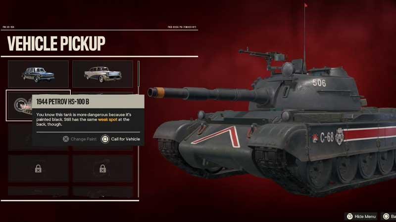 Unlock Tank FC6