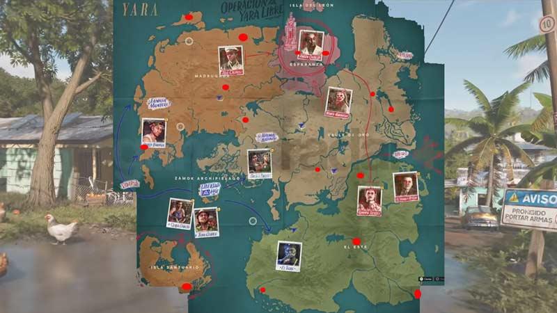 usb map yara