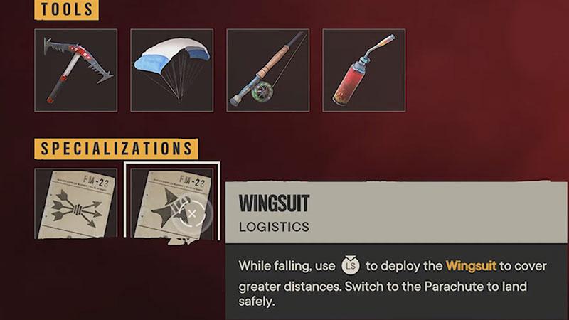 wingsuit unlock